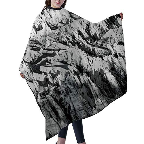 "SUPNON Professional Salon Cape Polyester Cape Hair Cutting Cape, Water And Stain Resistant Apron, 55""x66"", Beautiful Landscape In Bryce Canyon With Magnificent Stone Formation, IS074801"