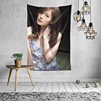 白石麻衣(Shiraishi Mai) タペストリー インテリア 壁掛け おしゃれ 室内装飾 多機能 寝室 カーテン おしゃれ 個性ギフト 新築祝い 結婚祝い プレゼント ウォール アート(60in*40in)