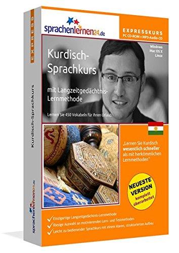 Sprachenlernen24.de Kurdisch-Express-Sprachkurs PC CD-ROM für Windows/Linux/Mac OS X + MP3-Audio-CD: Werden Sie in wenigen Tagen fit für Ihre Reise nach Kurdistan