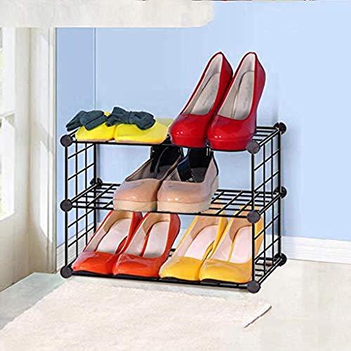 ZJJJD Einfache Kombination Aus Netto-aufbewahrungsschuhschrank, Modischer Kreativmontage, Wohnzimmerrahmenkunst-schuhregal-65 cm Stauraum Schuhbank Mehrzweck Schuhregal Staubdichtes
