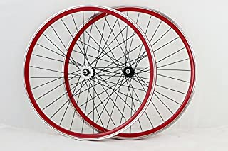 Vuelta Zerolite Track Comp NO Decals 700c Fixie Fixed Gear Single Speed Bike Wheel Set