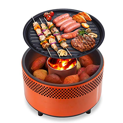 Barbeque Smokeless Charcoal Grill