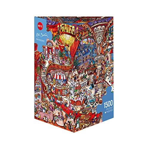 Heye 3329889 Puzzle, Mehrfarbig