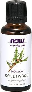 NOW Essential Oils, Cedarwood Oil, 1-Ounce