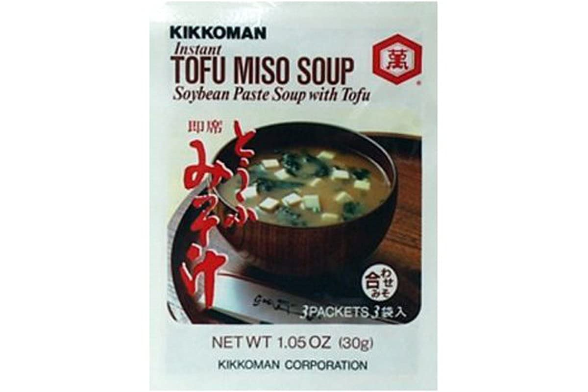 Kikkoman Instant Tofu Manufacturer regenerated product Complete Free Shipping Miso Paste with Soybean Soup