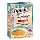 Tipiak- Tapioca - Gránulos Tradicionales - Complemento Ideal para Caldos Rellenos y Postre - Mandioca 100 % Natural - 225 Gramos