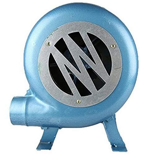 YUANP Handkurbel Schmiede Schmiede Gebläse BBQ Fan Kohle Feuerzeug Grill BBQ Feuerzeuge Fan-Blau 200W,350W