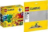 LEGO® Classic 10701 11001 - Juego de 2 placas base y bloques de construcción