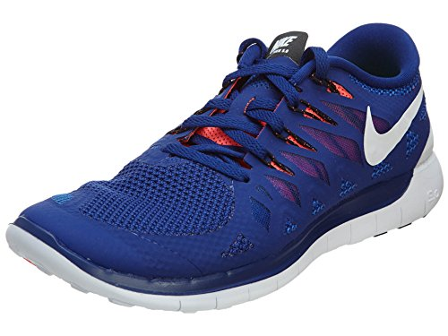Nike Men's Free 5.0 Running Shoe Deep Royal Blue/Black/Hyper...