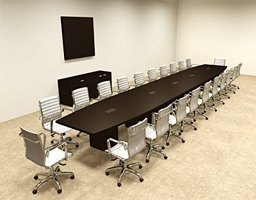 Ranking TOP20 Modern Boat Shaped 24' OF-CON-C95 Conference Feet trust Table