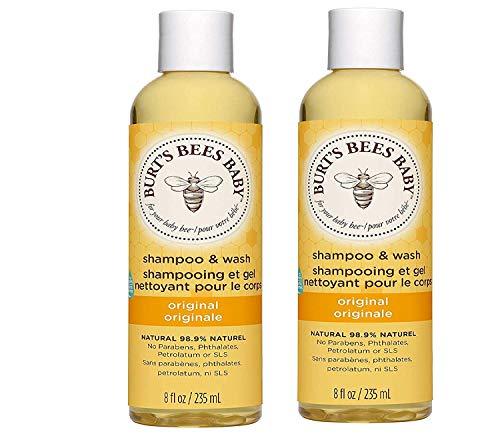 Burt's Bees Baby Shampoo And Wash, Natural, Tear Free Baby Wash,Original,...