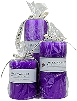 Mill Valley Candleworks French Lavender Scented Candle