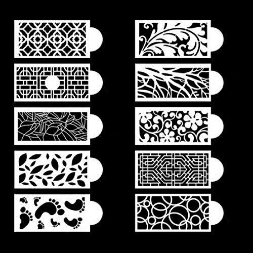 ZGHYBD Vintage Cake Decoration Pattern Board,for Cake Decoration 3D Lace Effect Fondant Classic Pattern, Lace Pattern