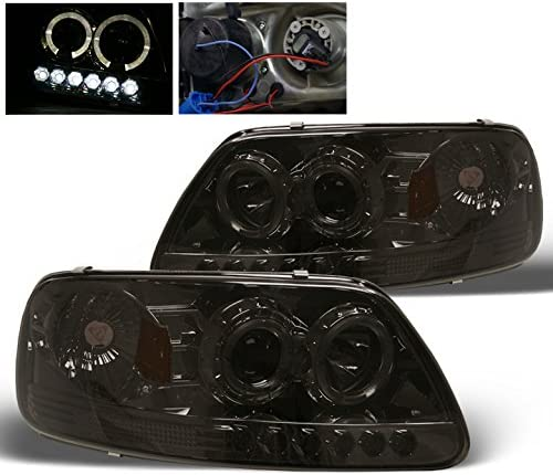 Aftermarket Gorgeous Replacement LED Halo Headlights F150 Many popular brands 97-03 for Ford