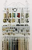 Longstem Organizers Over-Door or Wall Jewelry Organizer #5100 in White, Patented...