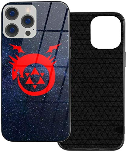 Fullmetal Alchemist Logo Anime iPhone 12 Series TPU Glass Case iphone12Pro MAX-6.7New 2021 Gifts