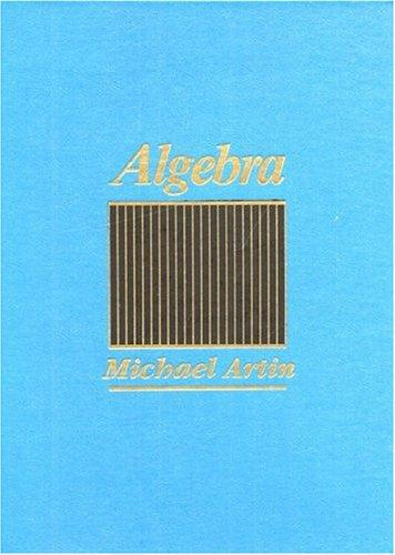 Top 10 algebra michael artin for 2020
