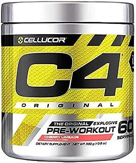 Cellucor International Version C4 オリジナルプレワークアウトパウダー チェリーライムエイド 60杯分 [海外直送品]