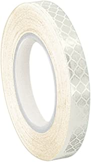 3M 3430 White Micro Prismatic Sheeting Reflective Tape 1