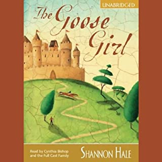The Goose Girl audiobook cover art