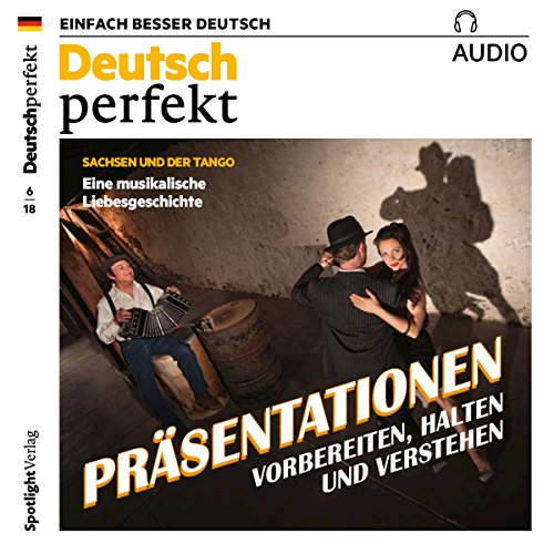 Deutsch perfekt Audio. 6/2018 Titelbild
