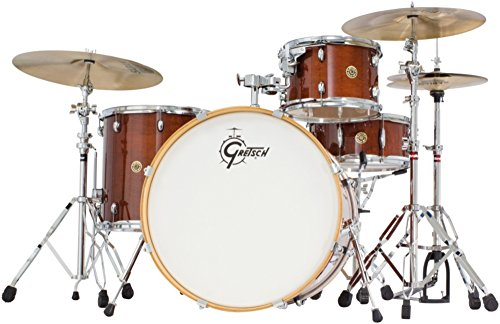 "Gretsch CM1E824SWG Catalina Maple CM1 4-Piece Shell Pack with 22"" Bass Drum - Walnut Glaze"