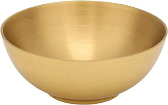 Fockety Altar Buddhist Offering Bowls Buddhist Supply Buddhist Sacrifice Bowl, Brass Ritual Buddhist Bowl, for Buddhist Te...
