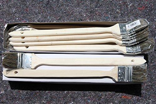 240 x Heizkörperpinsel 50mm mit grauen Chinaborsten zum Beschichten mit lösemittelhaltigen oder wasserverdünnbaren Wandfarben