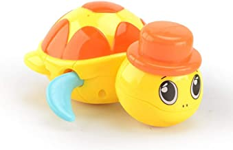 Cute Cartoon Water Toy Animal Tortoise Classic Baby Infant Swim Yellow Tortoise