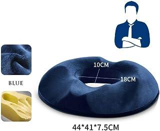 AO TE Almohada Ortopédica del Hueso De La Cola Grande De Espuma De Memoria para La Ciática, Espalda Y Dolor del Hueso De La Cola,Blue,Man