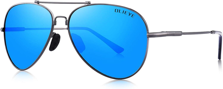 OLIEYE Men's Polarized Sunglasses for Men Women  Elastic Legs UV 400 Lens Predection