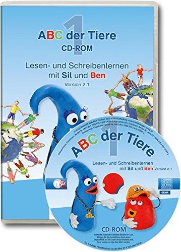 ABC der Tiere 1 – CD-ROM, Homeversion, Einzellizenz · Neubearbeitung: Lesen- und Schreibenlernen mit Sil und Ben, Version 2.1, passend zur ... (ABC der Tiere - Neubearbeitung)