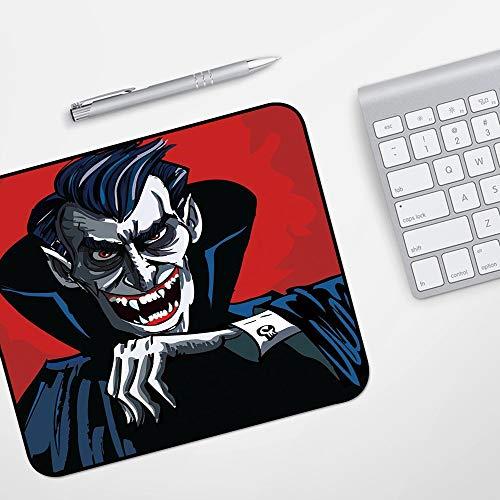 para Ratón con Cable o Inalámbrico,Vampiro, Cartoon Cruel Old Man with Cape...