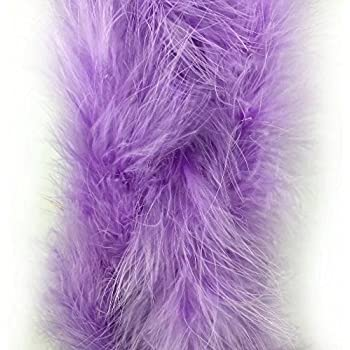 72 Long Turkey Marabou Feather Boa 40+ Colors and Patterns to Pick from 22g Chocolate Brown