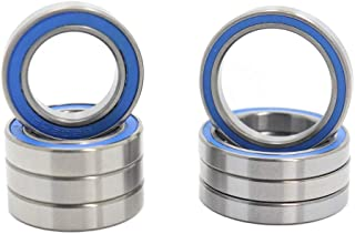 Pick of 10pcs MR126RS Ball Bearing 6x12x4mm Compatible with Traxxas 5117,6x12 ABEC-3 Blue Rubber Sealed Ball Bearings