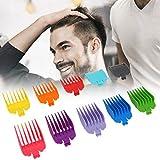 Guías profesionales de guías de cortapelos para el cabello Peines para la mayoría de las cortadoras/cortadoras de cabello 10 guías de corte codificadas por color se ajustan a la mayoría de las cortado
