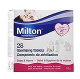 Milton Esterilización Tablets 28 por paquete