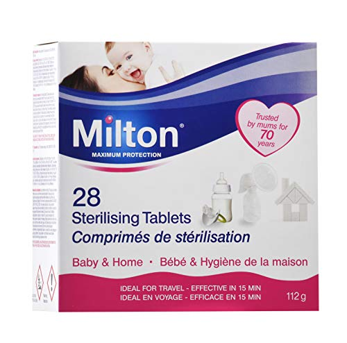 Read About Milton Sterilising Tablets - Pack of 28 Tablets