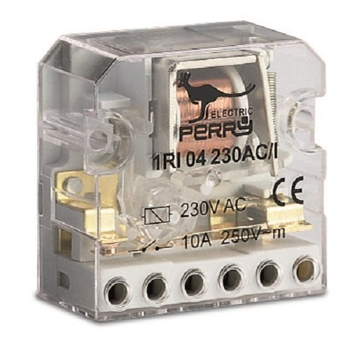 Perry Electric 1RI 04230AC/I - Rele' Impulsi Incasso 230V