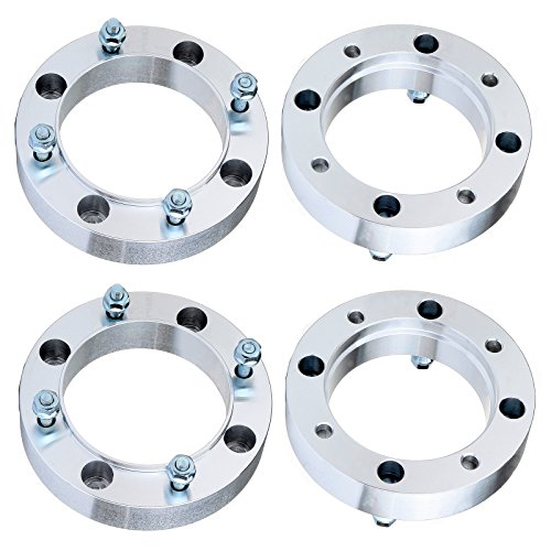 """ECCPP 4x 1.5 inch 38mm 4 Lugs Wheel Spacers 4x156 to 4x156mm 131mm CB fits for Pol-aris Outlaw 500 525 for Pol-aris RZR 800 for Po-laris Sportsman 800 500 with 3/8""""x24 Studs"""