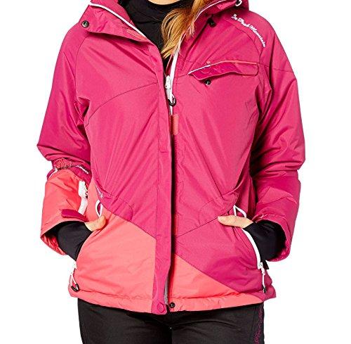 Peak Mountain - Blouson de ski femme ATENE-fushia-T2