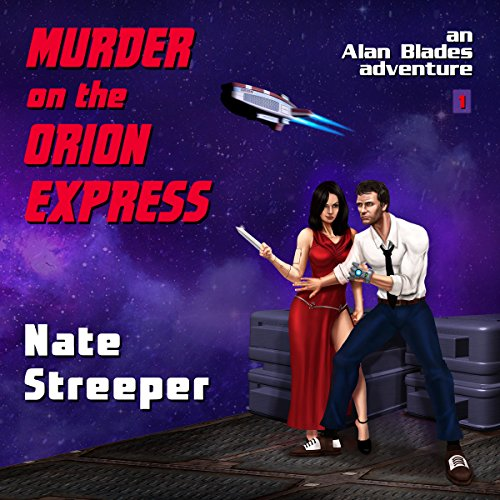 Murder on the Orion Express audiobook cover art