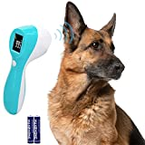 Hzran Cat and Dog Ear Temperature Monitor, 3 in 1 Pet Thermometer, Dog or Cats Ear Temperature Monitor with Warranty, Temperature Monitor for Chicken, Rabbit, Hamster, Bunny, Guinea Pig.