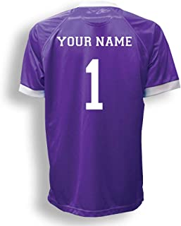 Short Sleeve Goalie Jersey Personalized with Your Name and Number (with free keeper pin)