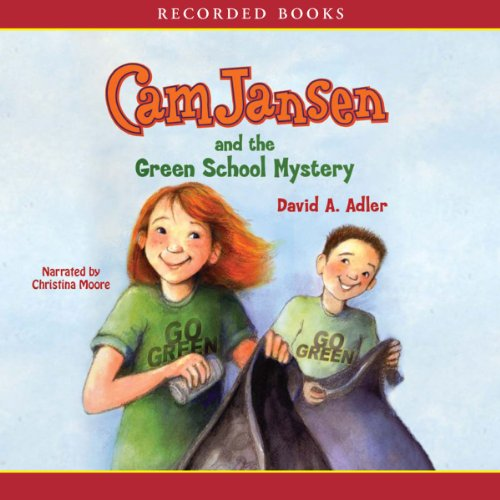 Cam Jansen and the Green School Mystery cover art