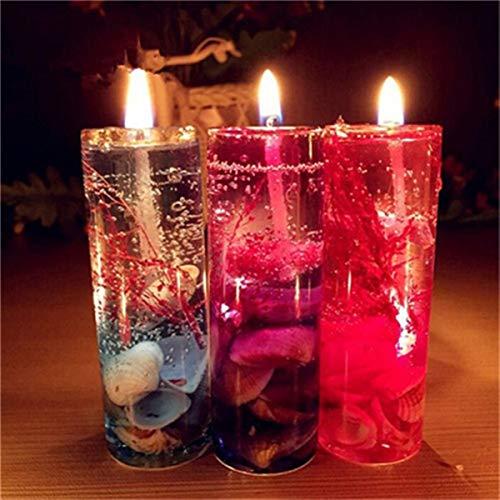 Geurkaarsen romantische bruiloft oceaan schelpen jet gelei kaarsen rookloze kaarsen geurende etherische olie warm te koop