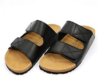 COMFORTNESS Black Simple Style Slipper for Men