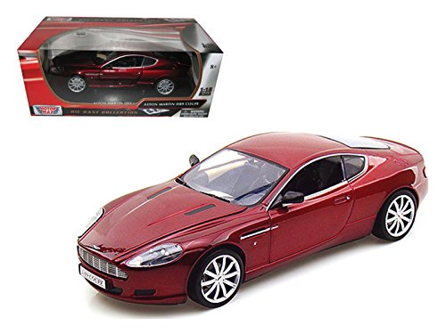 Aston Martin DB9 Coupe Burgundy 1/18 by Motormax 73174