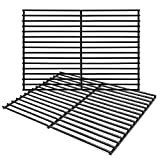 Hongso 16 5/8' Porcelain Steel Grill Grate Cooking Grid Replacement Parts for Thermos 461252605, Kirkland Front Avenue 463230703, Charbroil 463261306, Kenmore, Kmart Gas Grill, 2-Pack (PCB932)