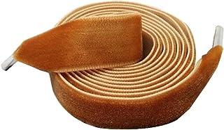 靴ひも靴ひもゴールドベルベットファッション靴ひも120センチメートル一組